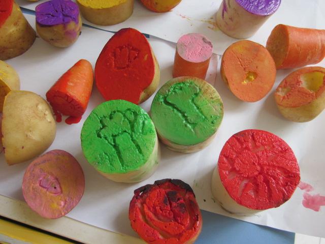 土豆萝卜雕刻