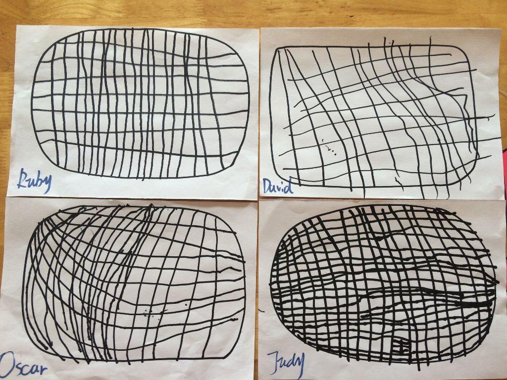 修补渔网的方法图解