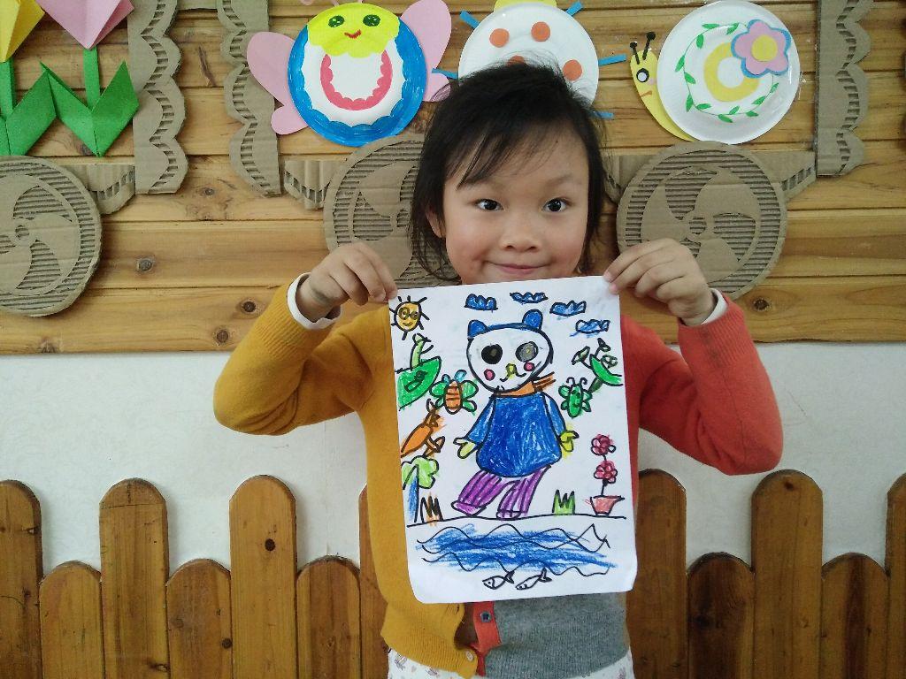 可爱的小熊!_绘画作品2016年第9周